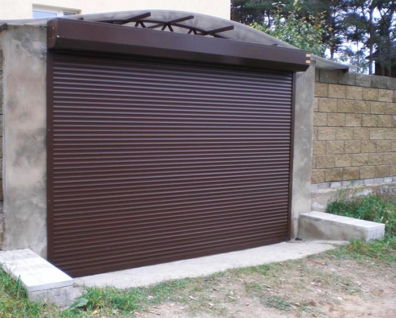 Рулонные автоматические ворота в Орле