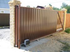 Откатные ворота — это удобно!
